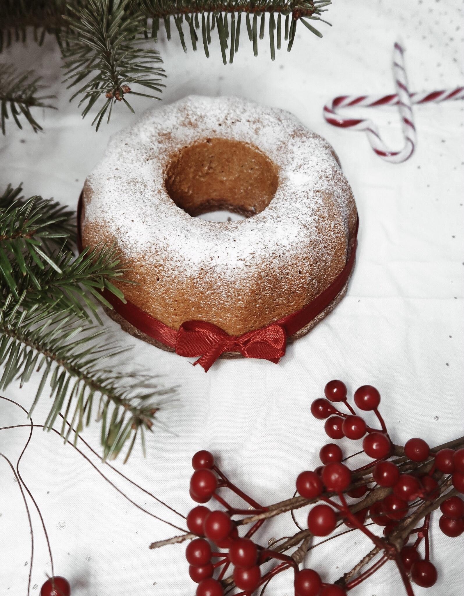 Karácsonyi csokis kuglóf tejmentesen