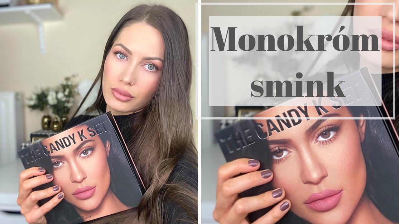 Monokróm smink Kylie cosmetics szettel