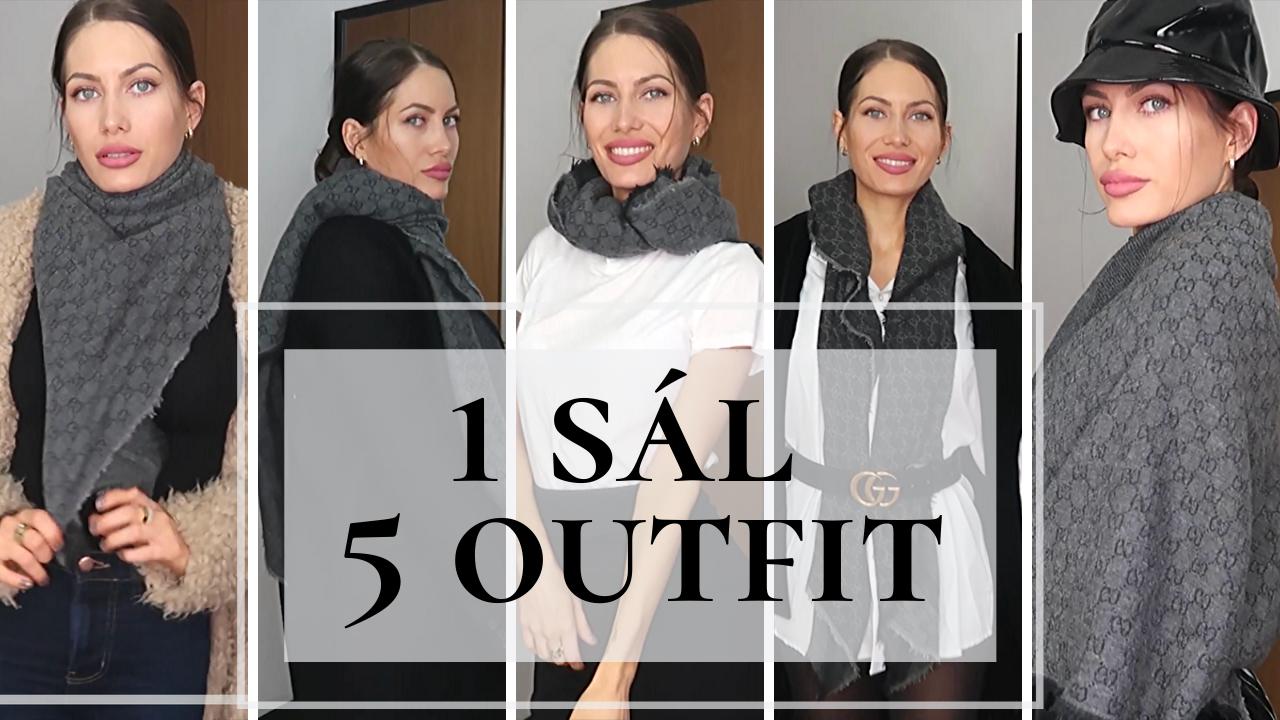 1 sál 5 outfit -Téli divat
