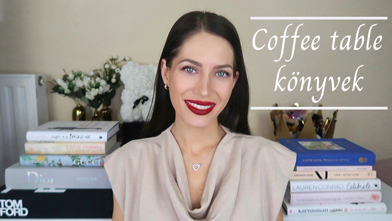 Kedvenc Coffee table könyveim- Divat és interior könyvekkel