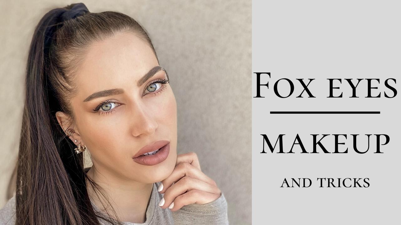 Rókaszem/ fox eyes makeup műtét nélkül