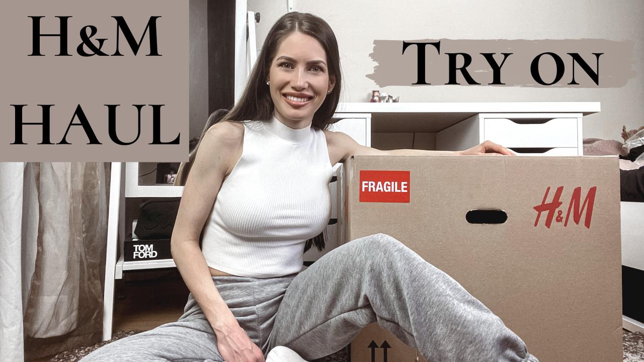 Hatalmas H&M haul- Felpróbálós
